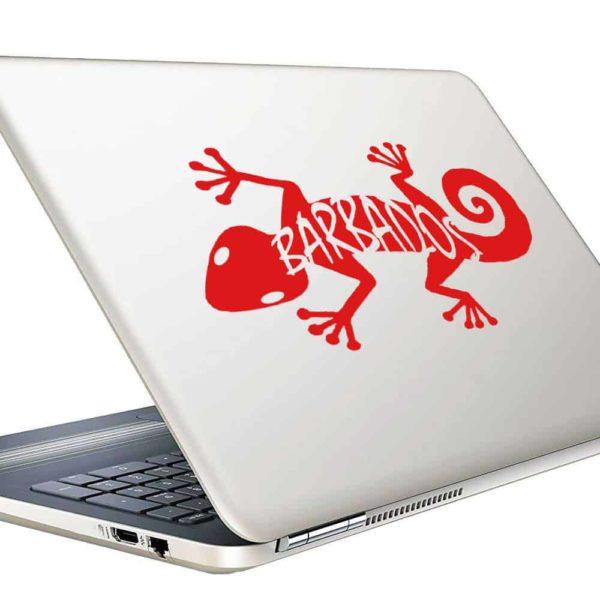 Barbados Lizard Vinyl Laptop Macbook Decal Sticker