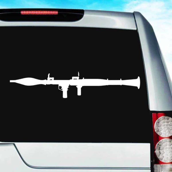 Bazooka Vinyl Car Window Decal Sticker