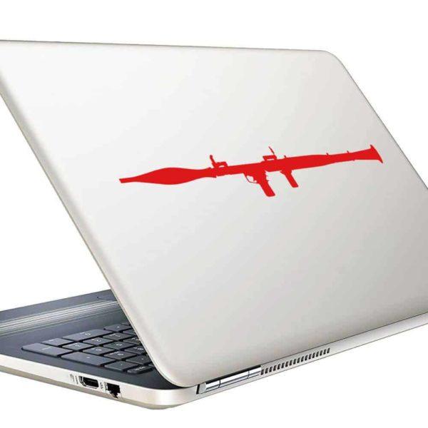 Bazooka Vinyl Laptop Macbook Decal Sticker