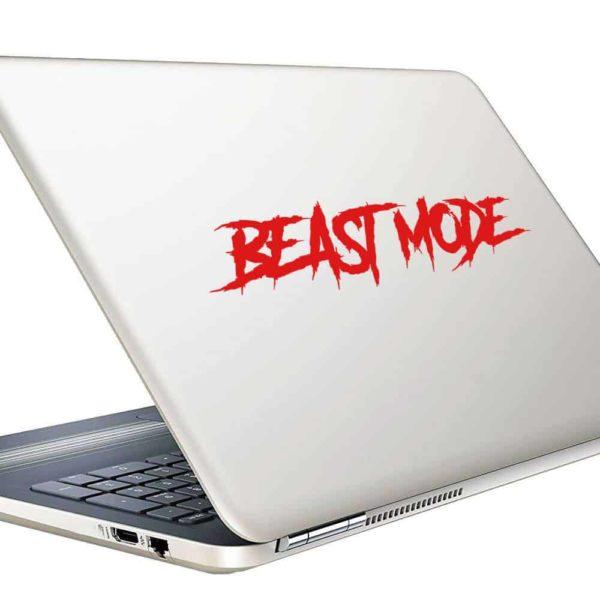 Beast Mode Vinyl Laptop Macbook Decal Sticker