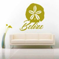 Belize Sand Dollar Vinyl Wall Decal Sticker