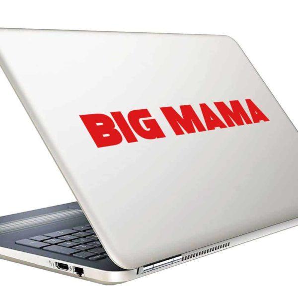 Big Mama Vinyl Laptop Macbook Decal Sticker