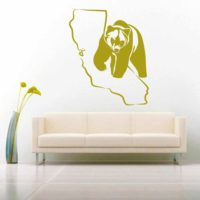 California Bear Vinyl Wall Decal Sticker