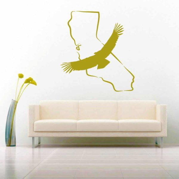 California Condor Vinyl Wall Decal Sticker