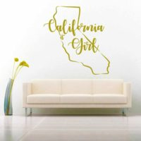 California Girl Vinyl Wall Decal Sticker