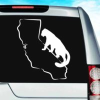 California Mountainlion Vinyl Car Window Decal Sticker