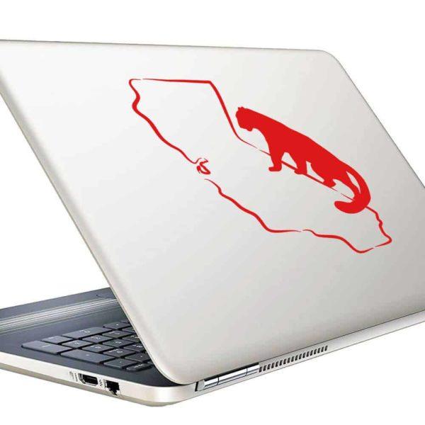 California Mountainlion Vinyl Laptop Macbook Decal Sticker