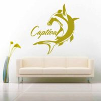 Captiva Island Hammerhead Shark Vinyl Wall Decal Sticker