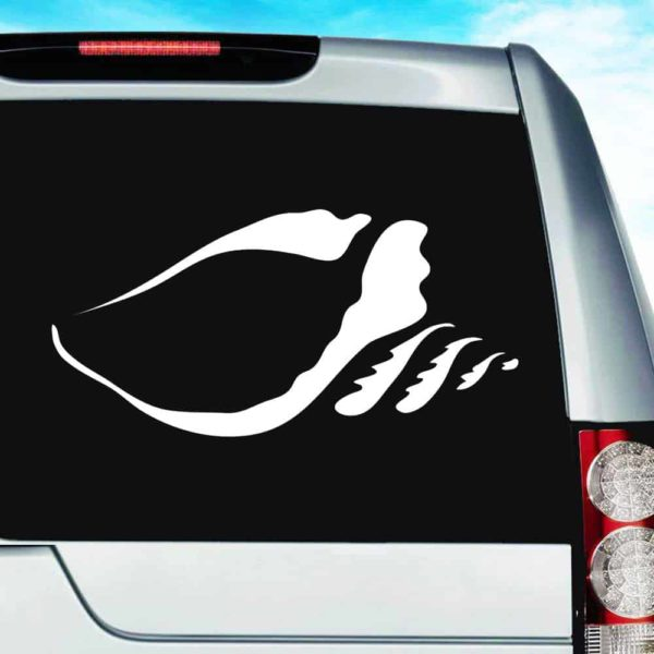 Conch Shell Vinyl Car Window Decal Sticker