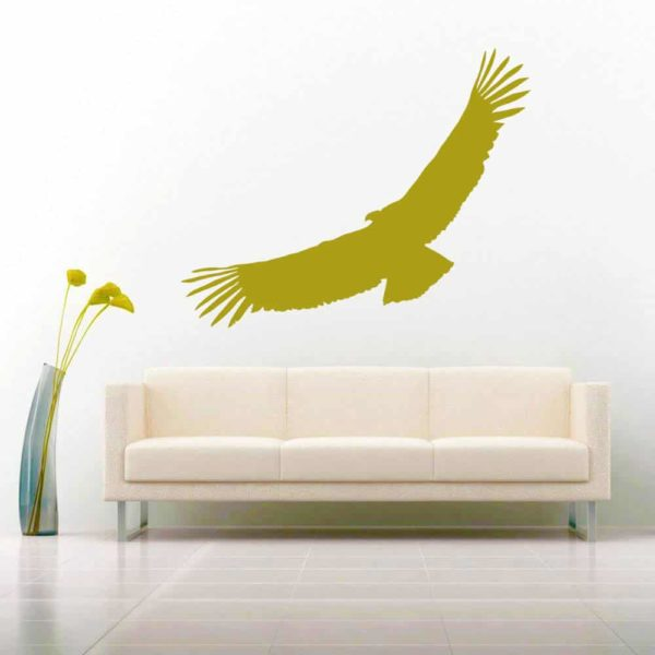 Condor California Vinyl Wall Decal Sticker