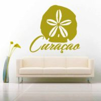 Curacao Sand Dollar Vinyl Wall Decal Sticker