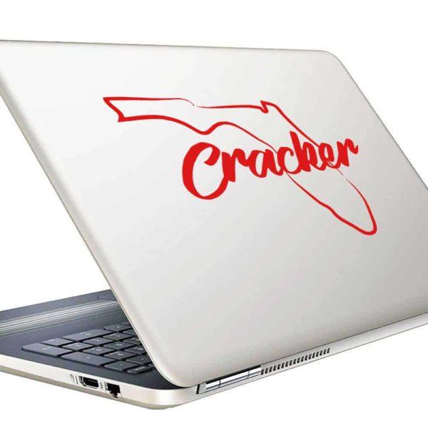Florida Cracker Vinyl Laptop Macbook Decal Sticker