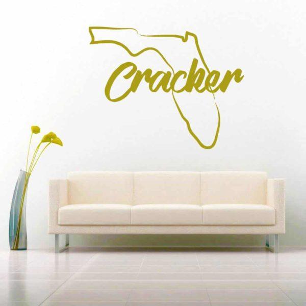 Florida Cracker Vinyl Wall Decal Sticker