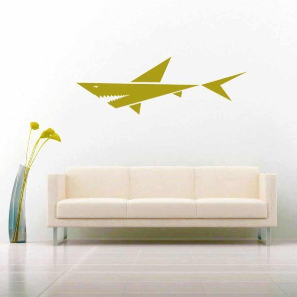 Freaking Sweet Shark Vinyl Wall Decal Sticker
