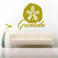 Grenada Sand Dollar Vinyl Wall Decal Sticker