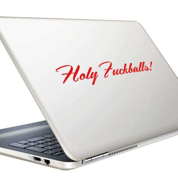 Holy Fuckballs Vinyl Laptop Macbook Decal Sticker