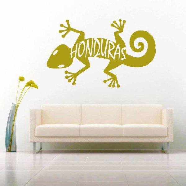 Honduras Lizard Vinyl Wall Decal Sticker
