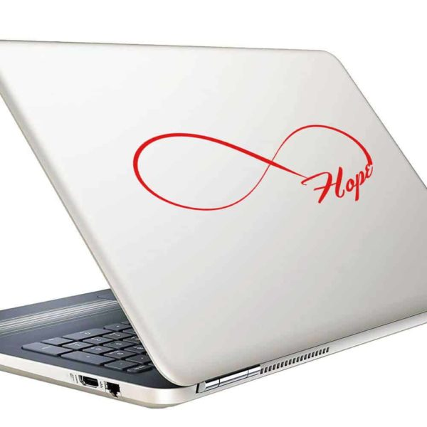 Hope Infinity Vinyl Laptop Macbook Decal Sticker
