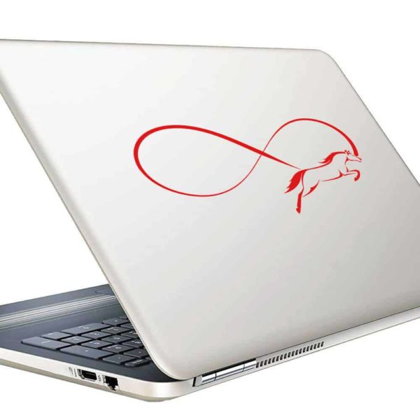 Horse Infinity Vinyl Laptop Macbook Decal Sticker