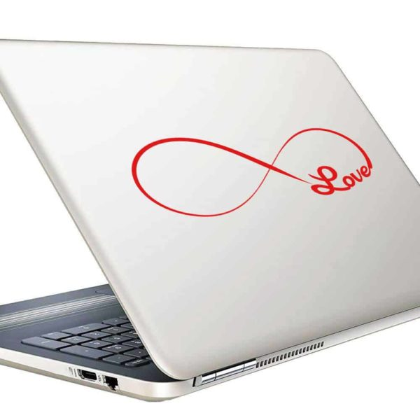 Infinity Love Vinyl Laptop Macbook Decal Sticker