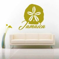 Jamaica Sand Dollar Vinyl Wall Decal Sticker