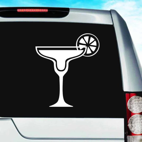 Margarita Glass Vinyl Car Window Decal Sticker