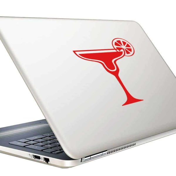 Margarita Glass Vinyl Laptop Macbook Decal Sticker