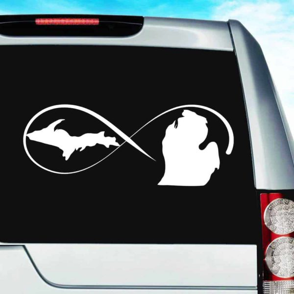 Michigan Infinity Forever Vinyl Car Window Decal Sticker