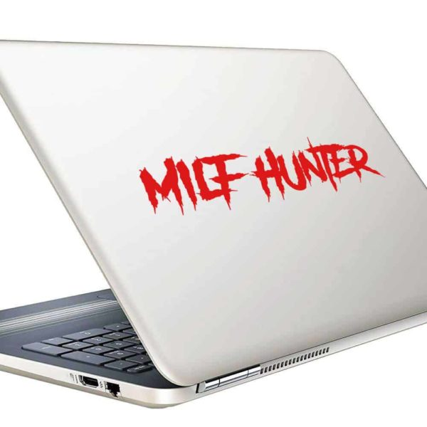 Milf Hunter Vinyl Laptop Macbook Decal Sticker