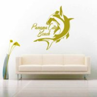 Panama City Beach Florida Hammerhead Shark Vinyl Wall Decal Sticker