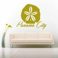 Panama City Florida Sand Dollar Vinyl Wall Decal Sticker