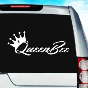 Queen Bee Vinyl Car Window Decal Sticker