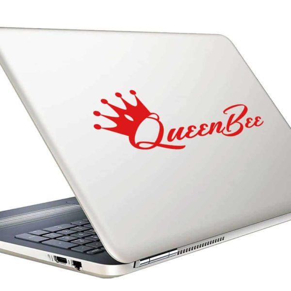 Queen Bee Vinyl Laptop Macbook Decal Sticker