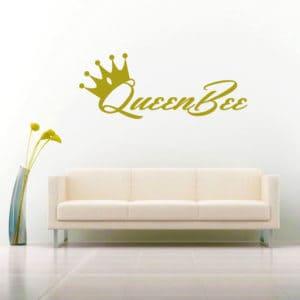 Queen Bee Vinyl Wall Decal Sticker