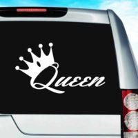 Queen Vinyl Car Window Decal Sticker