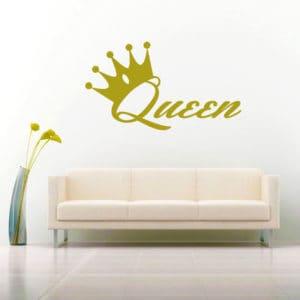 Queen Vinyl Wall Decal Sticker