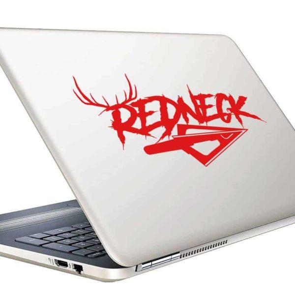 Redneck Antlers Arrow Tip Vinyl Laptop Macbook Decal Sticker