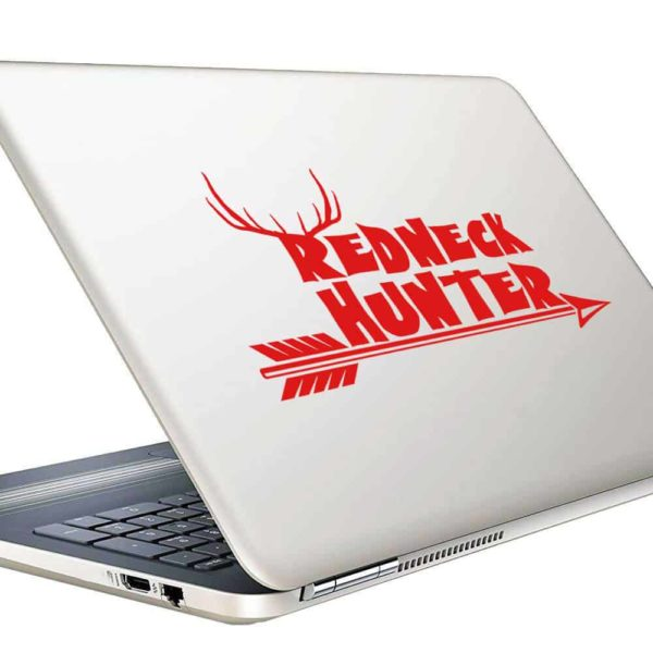 Redneck Hunter Bowhunting Arrow Vinyl Laptop Macbook Decal Sticker