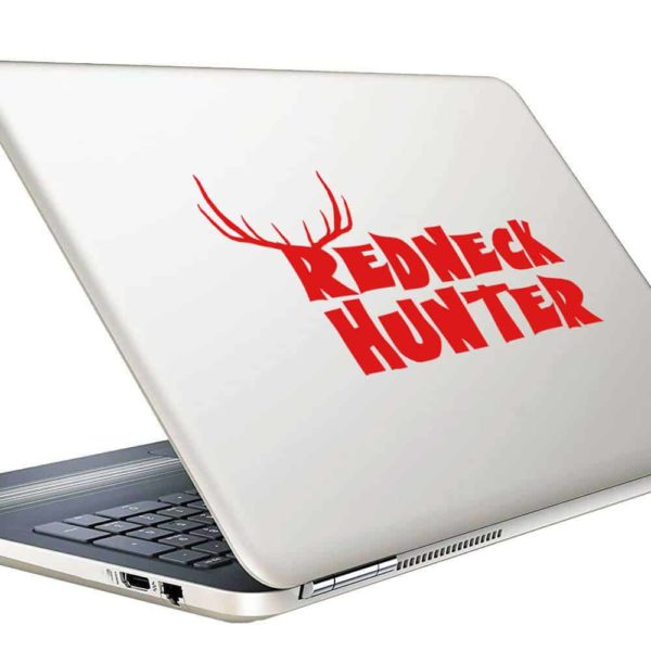 Redneck Hunter Vinyl Laptop Macbook Decal Sticker
