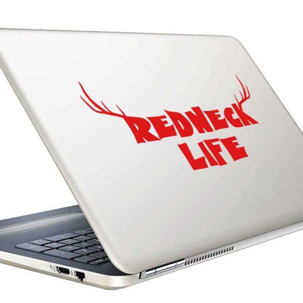 Redneck Life Vinyl Laptop Macbook Decal Sticker