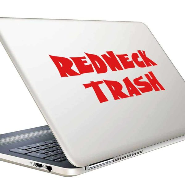 Redneck Trash Vinyl Laptop Macbook Decal Sticker
