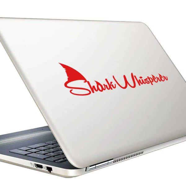 Shark Whisperer Vinyl Laptop Macbook Decal Sticker