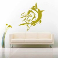 Siesta Key Florida Hammerhead Shark_1 Vinyl Wall Decal Sticker
