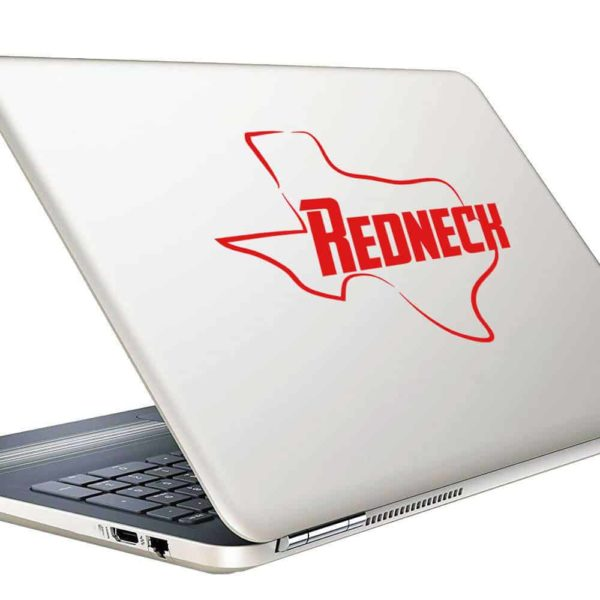 Texas Redneck Vinyl Laptop Macbook Decal Sticker