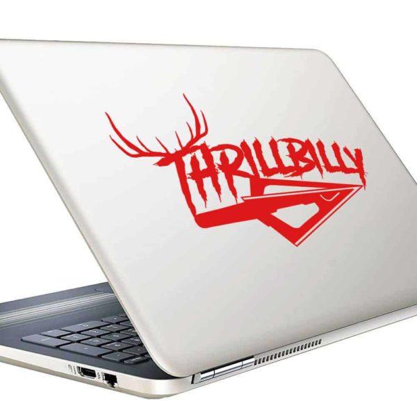 Thrillbilly Arrow Tip Antlers_1 Vinyl Laptop Macbook Decal Sticker