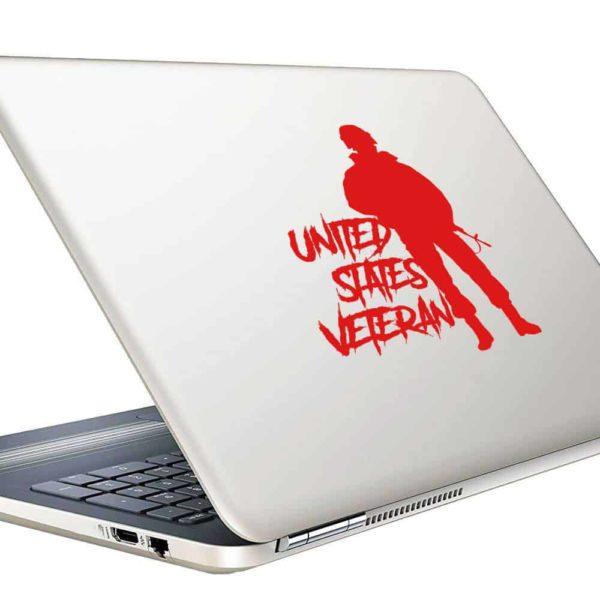 United States Veteran Soldier_1 Vinyl Laptop Macbook Decal Sticker
